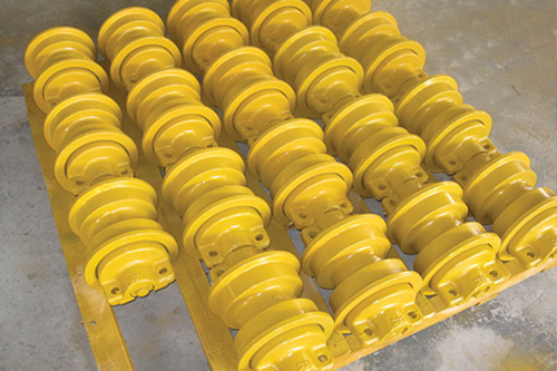 ENGIN TP strong style color b82220 komatsu strong d31 track roller