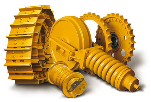 JCB undercarriage parts