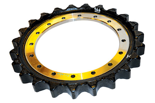 Train roulement barbotin safe metal sprocket 1